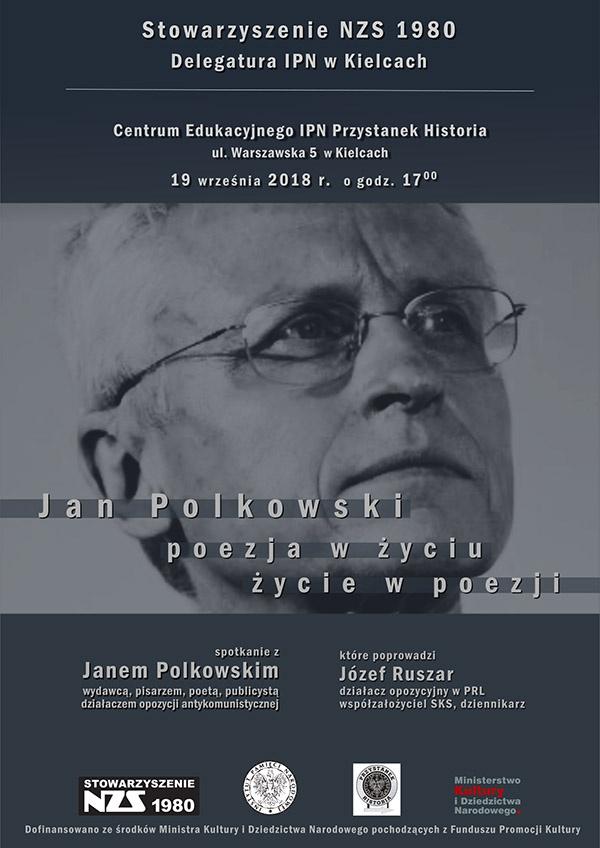 Jan Polkowski - poezja w życiu, życie w poezji